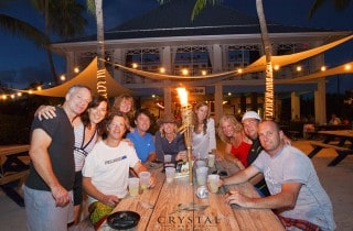 BBQ with Crystal Charters Cayman