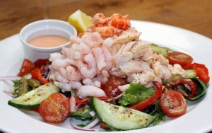 Seafood Dining Cayman Islands - Crystal Charters