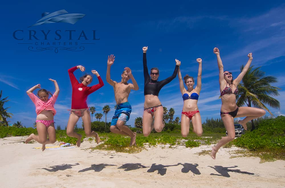 Crystal Charters Cayman beautiful beaches