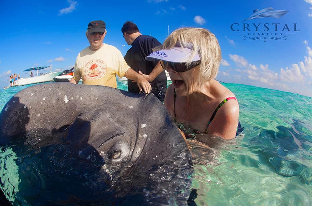 Crystal Charters Cayman Stingray City