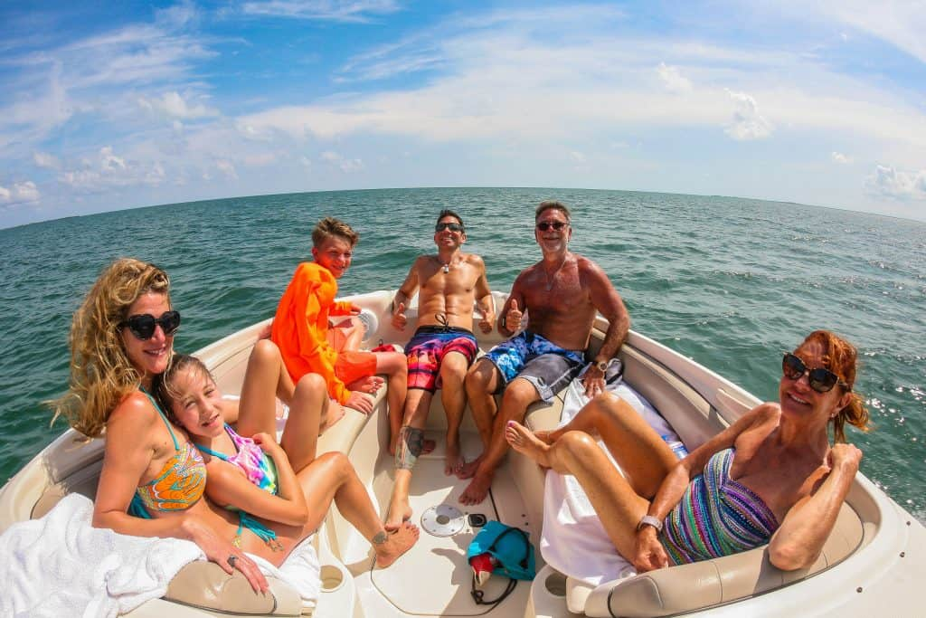 Private boat charter with Crystal Charters Cayman