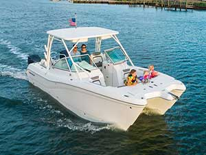 2018 29ft World Cat – for up to 14 people