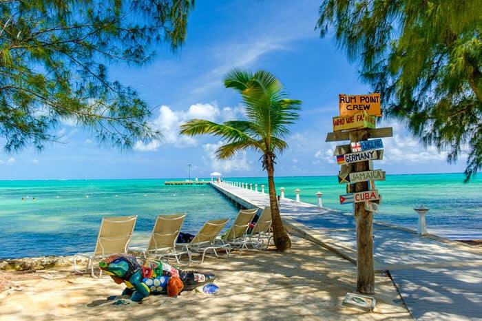 Rum Point Beach Bar and Restaurants in Grand Cayman